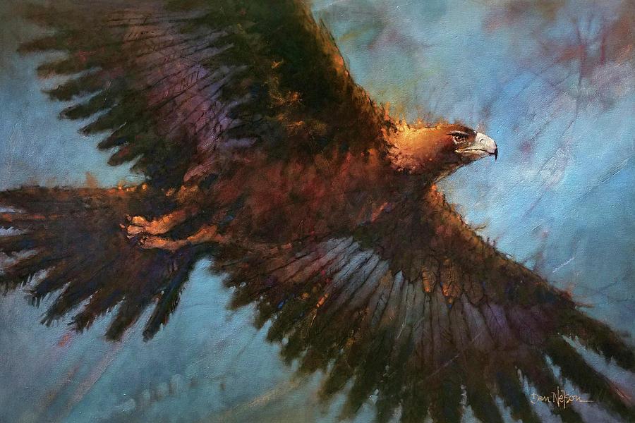 Buddys Eagle Painting
