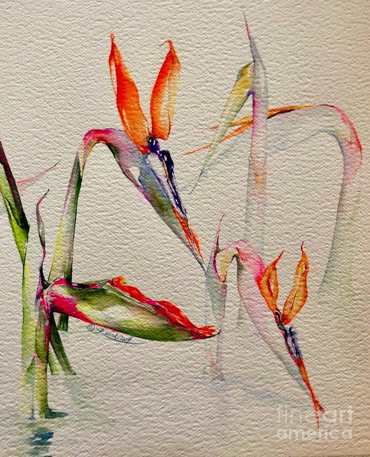 Buds Emerging by Laurel Adams