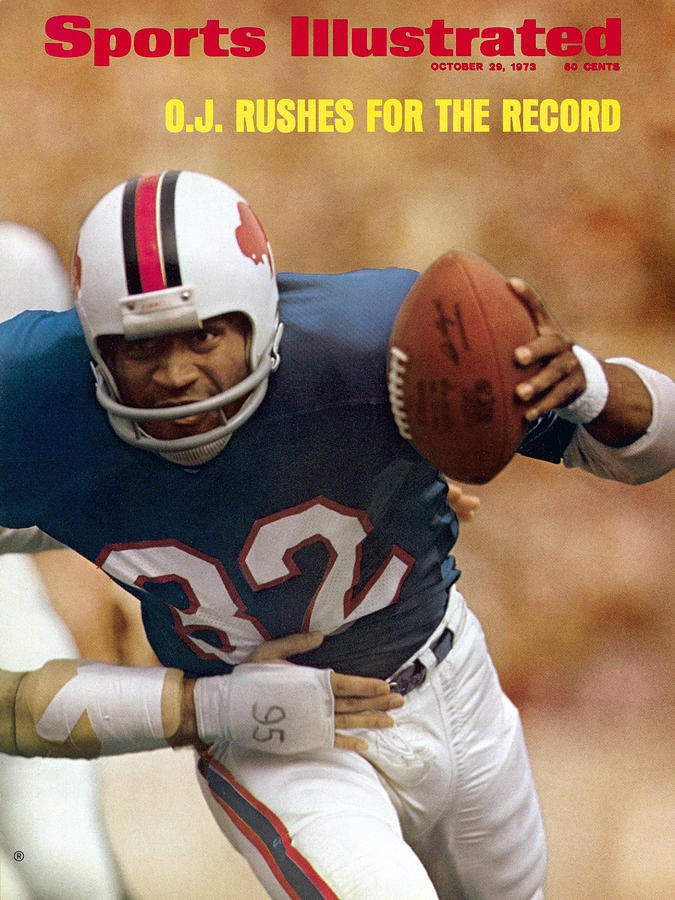 Buffalo Bills O.j. Simpson... Sports Illustrated Cover Photograph by Sports Illustrated