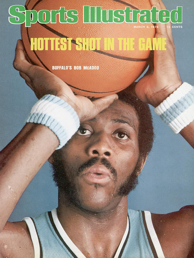 Buffalo Braves Bob Mcadoo Sports Illustrated Cover Photograph by Sports Illustrated
