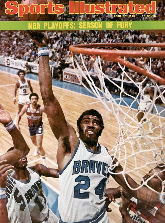 Buffalo Braves Garfield Heard, 1975 Nba Eastern Conference Sports Illustrated Cover Photograph by Sports Illustrated