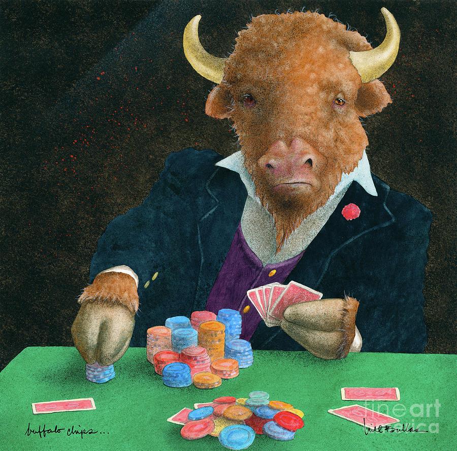 buffalo chips... by Will Bullas