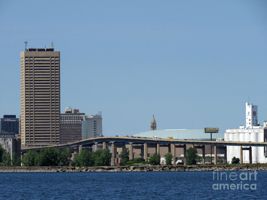 Buffalo New York by Roberta Byram