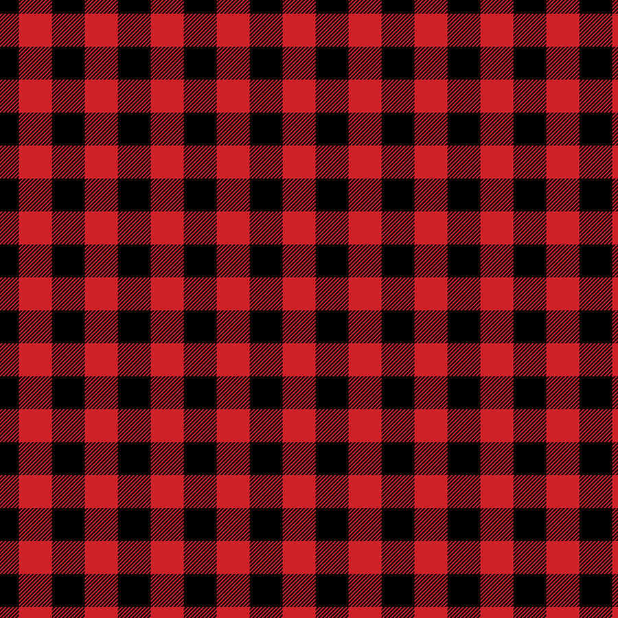 graphic regarding Printable Pattern known as Buffalo Plaid Rustic Lumberjack Buffalo Check out Habit