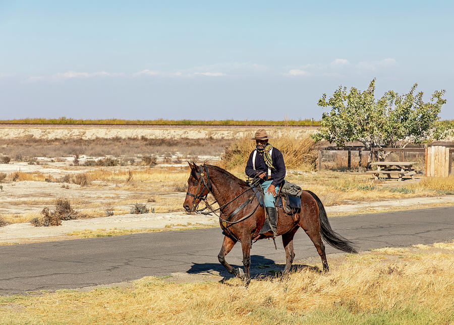 Buffalo Soldier 2018 - Allensworth State Historic Park by Gene Parks