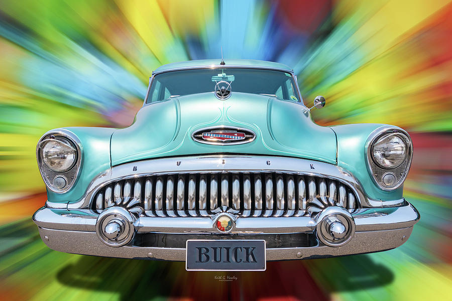 Buick Front On by Keith Hawley