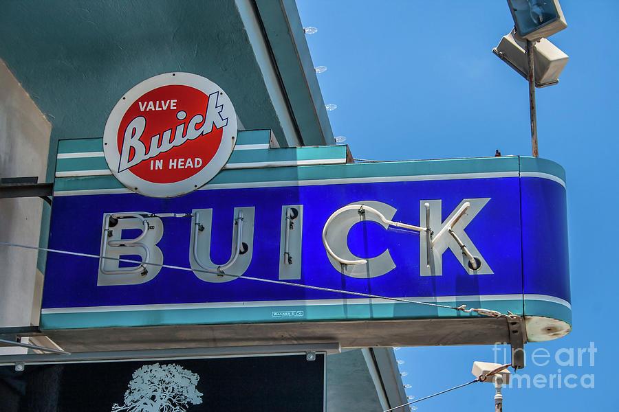 Buick Neon Sign by Tony Baca