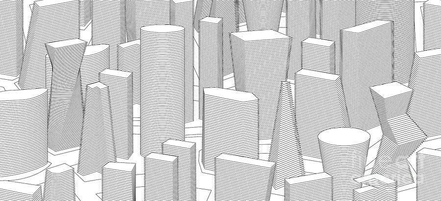 building city by ATIKETTA SANGASAENG