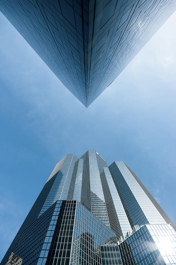 Buildings Face To Face Photograph by © Philippe Lejeanvre