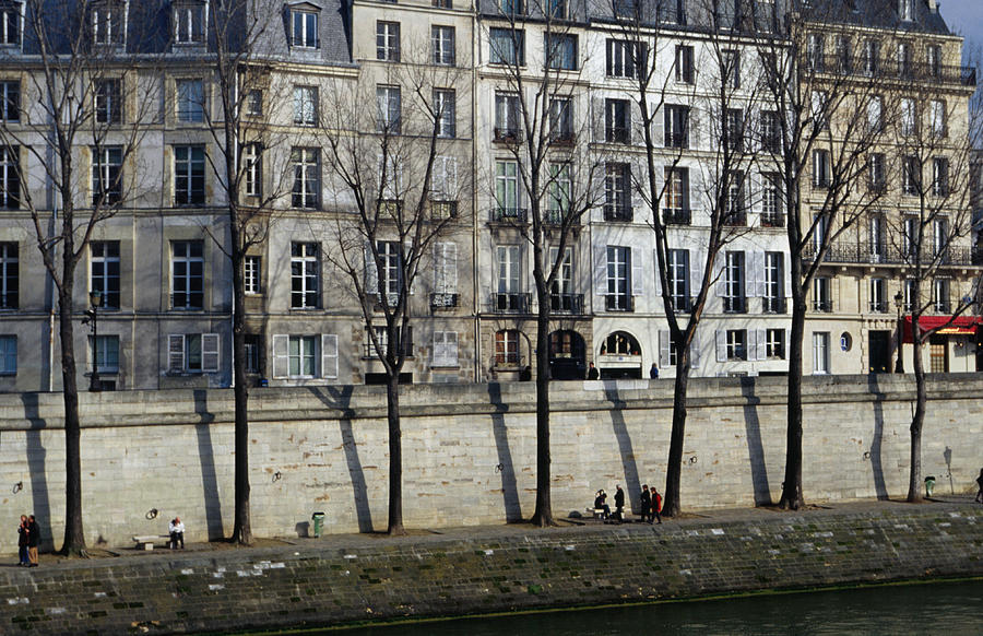Buildings On Ile Saint-louis Photograph by Lonely Planet