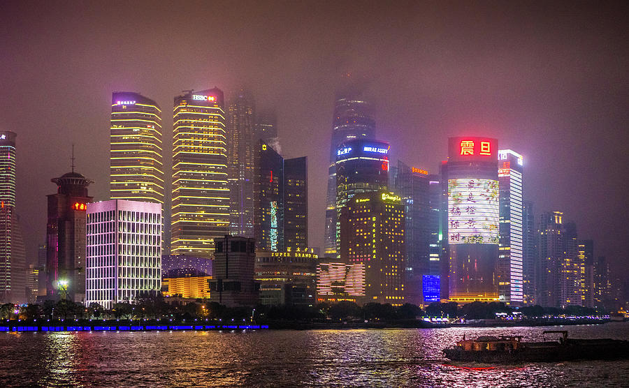 Buildings The Bund Shanghai by Gary Gillette