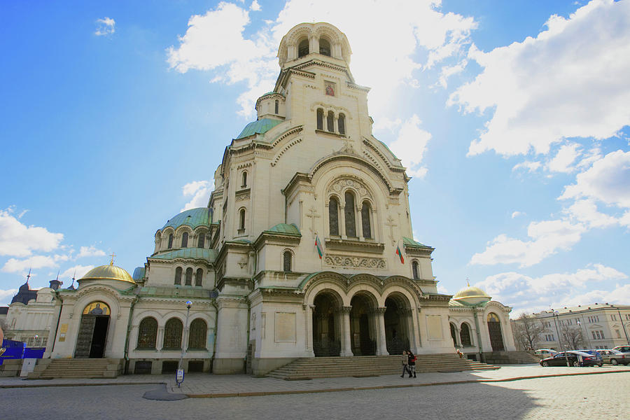 Bulgaria, Sofia, St. Alexander Nevsky Photograph by Christof Koepsel