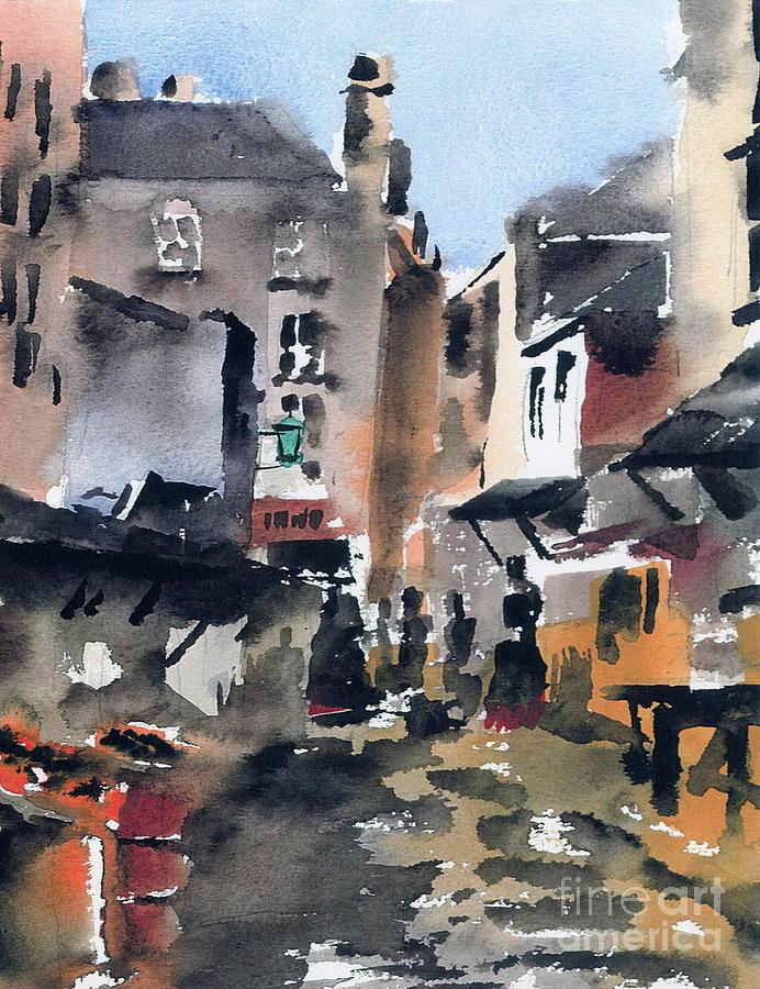 Bull Alley, Dublin Liberties by Val Byrne