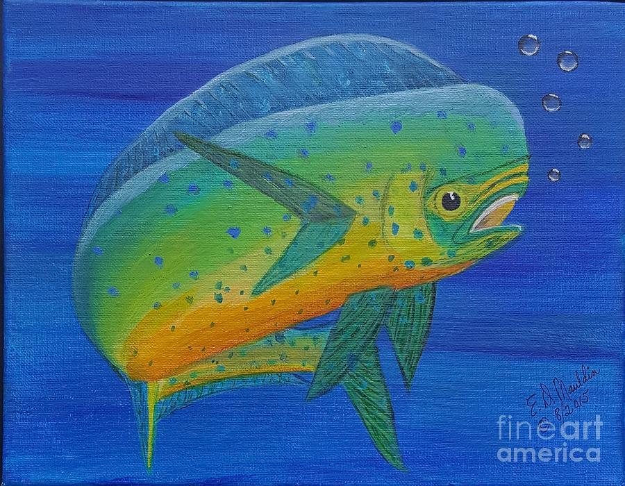 Bull Dolphin by Elizabeth Dale Mauldin