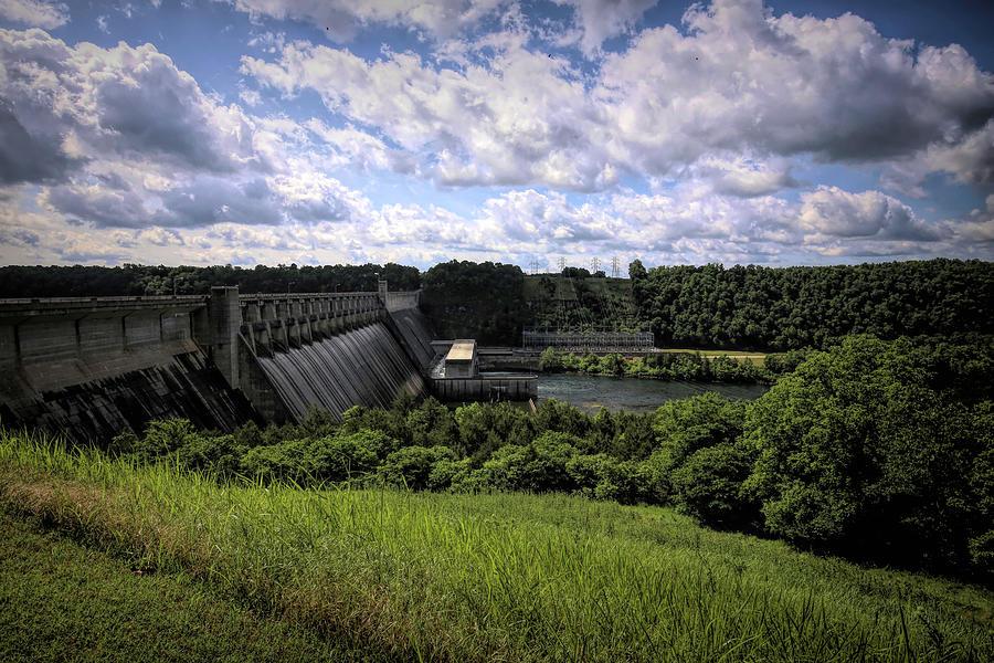 Bull Shoals Dam Photograph