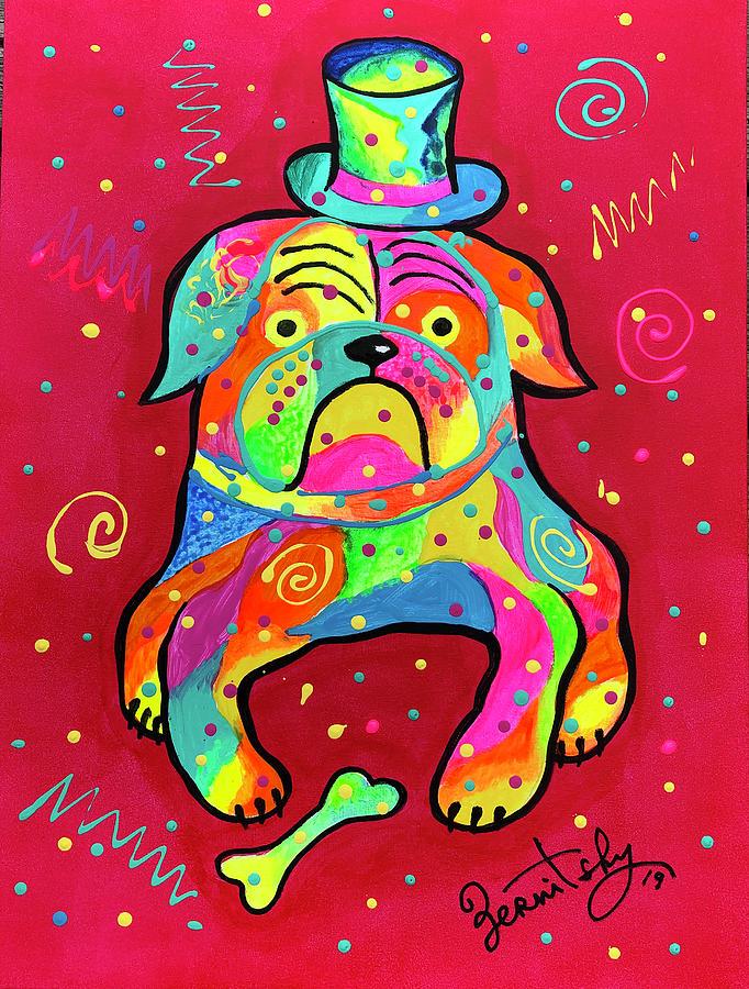 Bulldog - My Sweet Heart by Leon Zernitsky