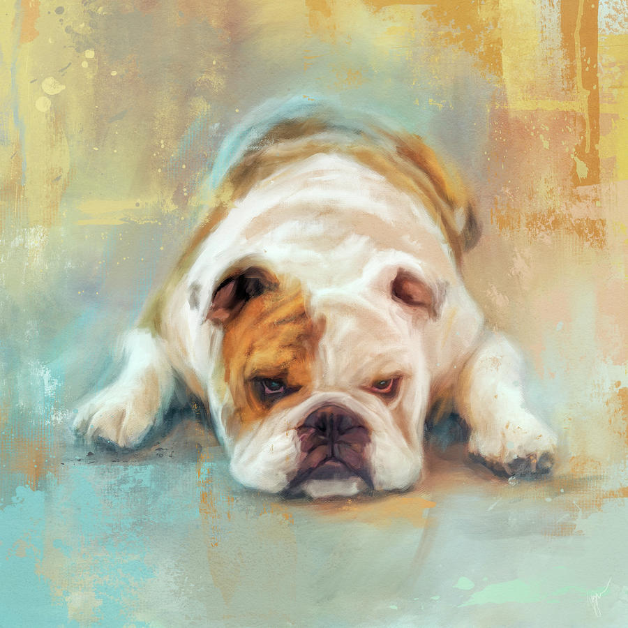 Bulldog With The Blues by Jai Johnson