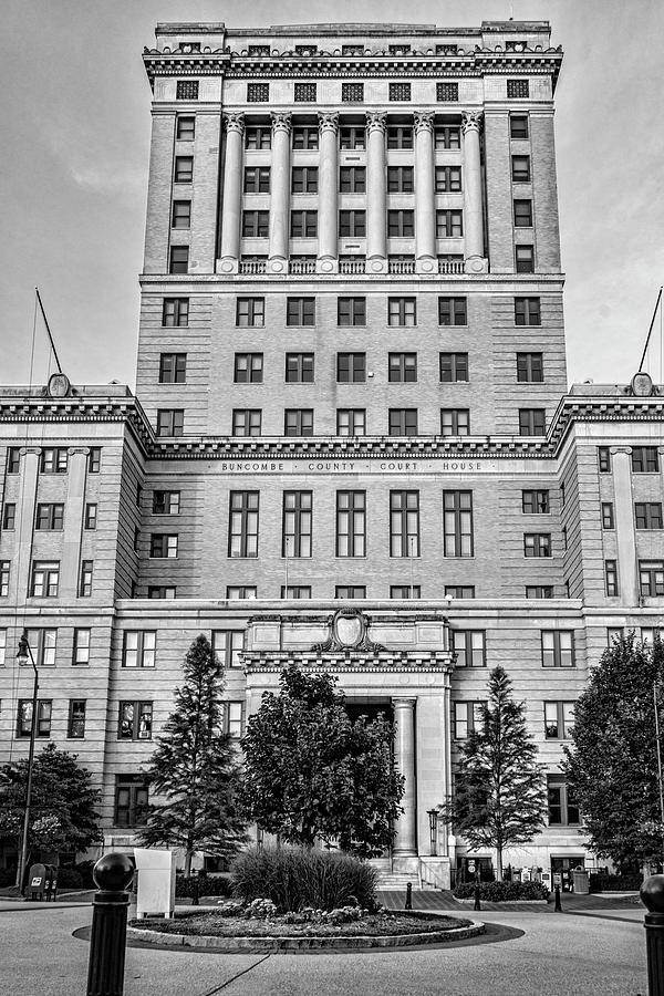 Buncombe County Courthouse by Sharon Popek