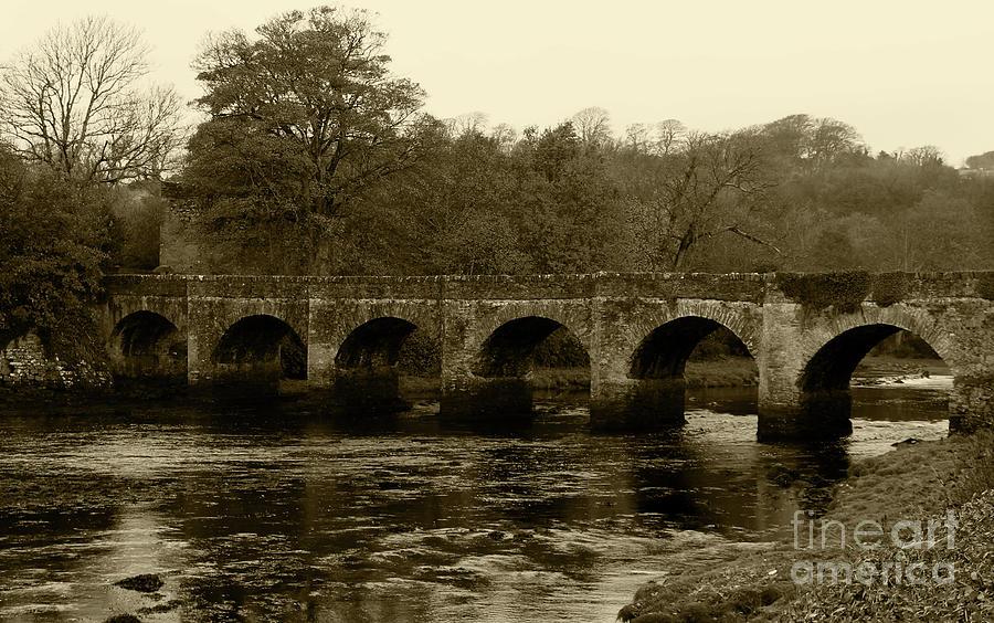 Buncrana Bridge Donegal Tint by Eddie Barron