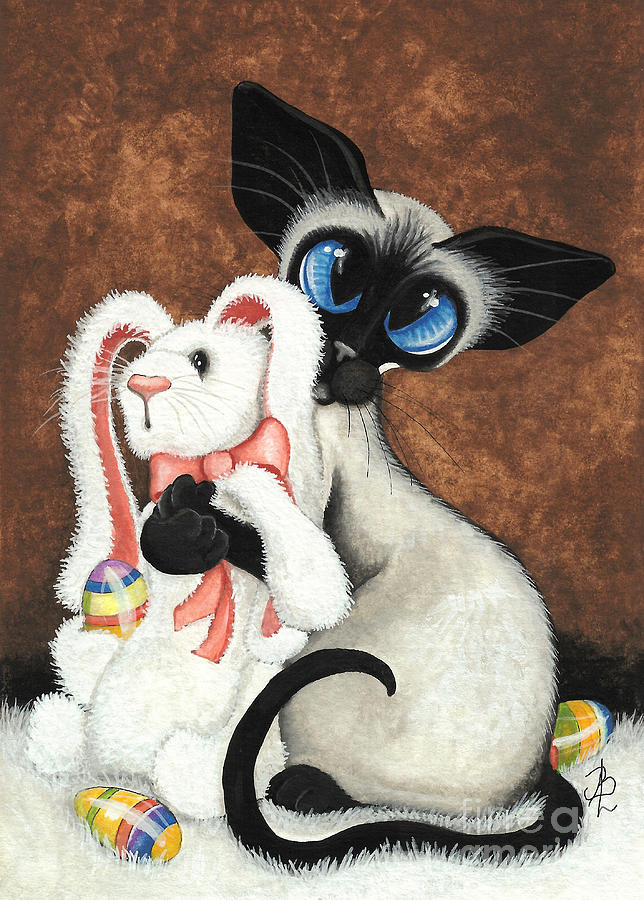 Открытки зайчик и котик, открытка