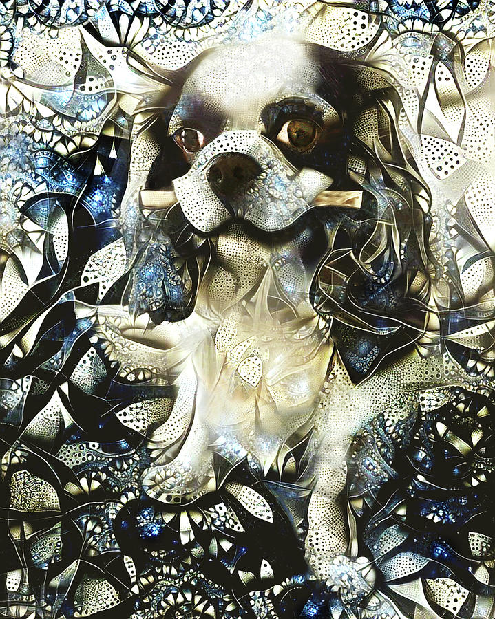 Bunny the Cavalier King Charles Spaniel by Peggy Collins