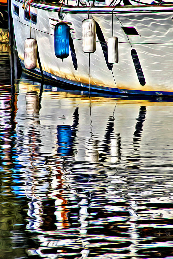 Buoys Reflected by Alice Gipson