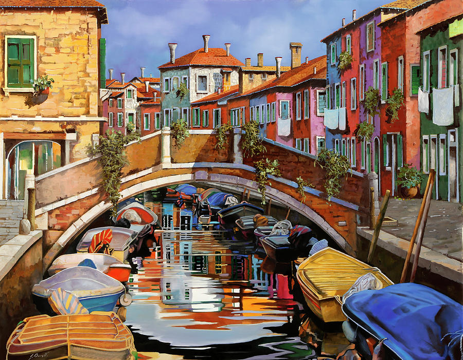Burano E I Colori Painting