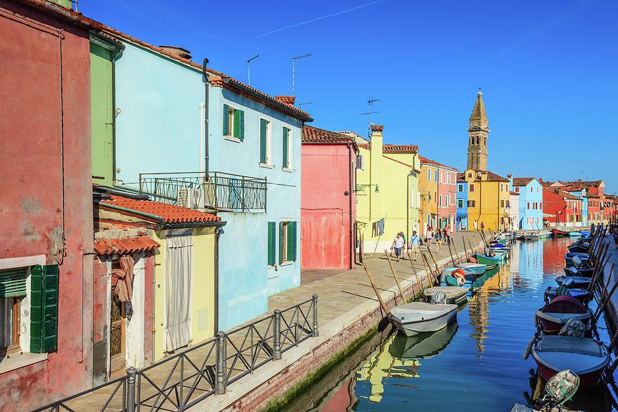 Burano In Venice Photograph by Kelly Cheng Travel Photography