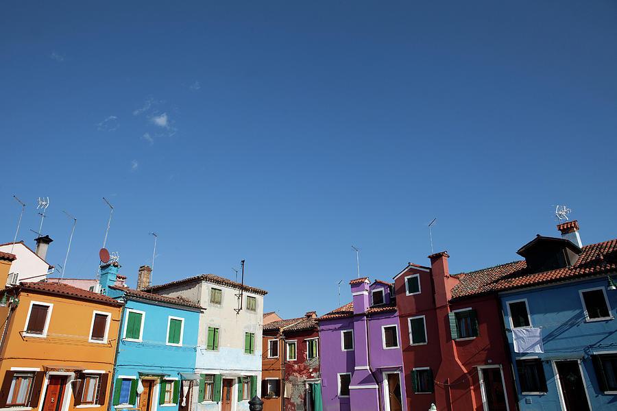 Burano, Venice Photograph by Helen Cathcart