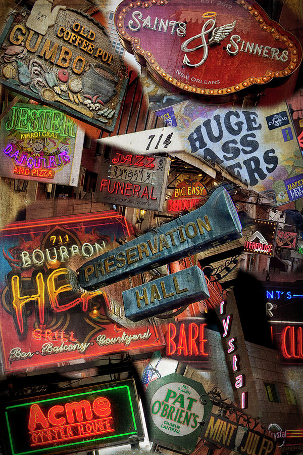 Burbon Street Compilation Merged DSC05963 by Greg Kluempers