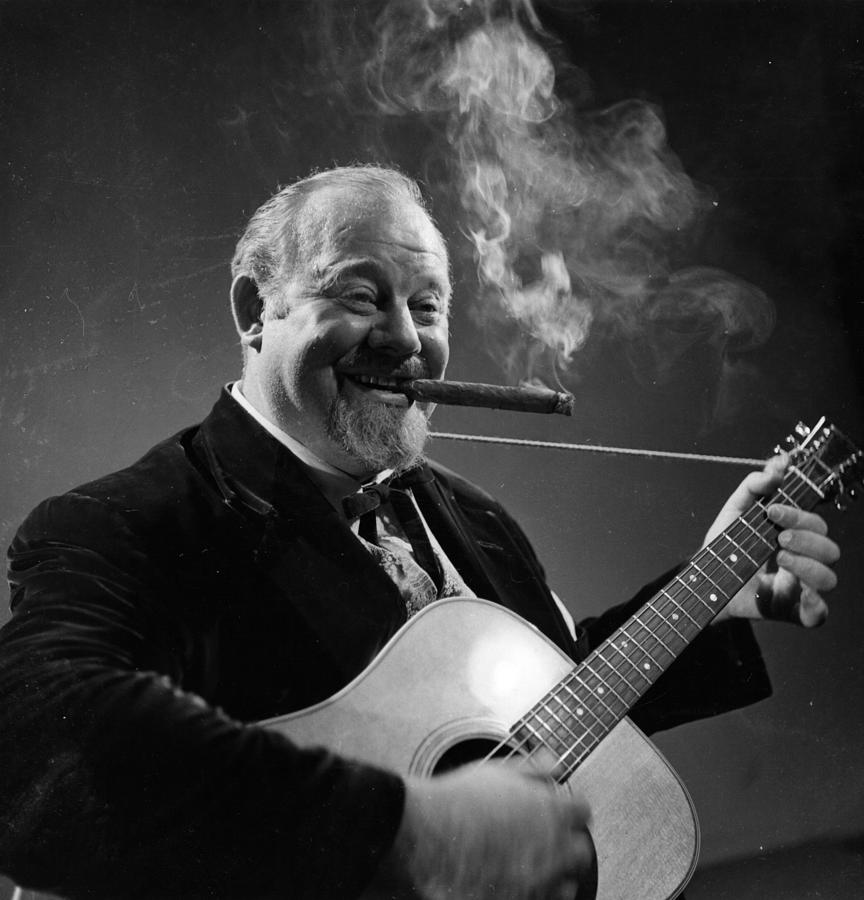 Burl Ives Photograph by Baron