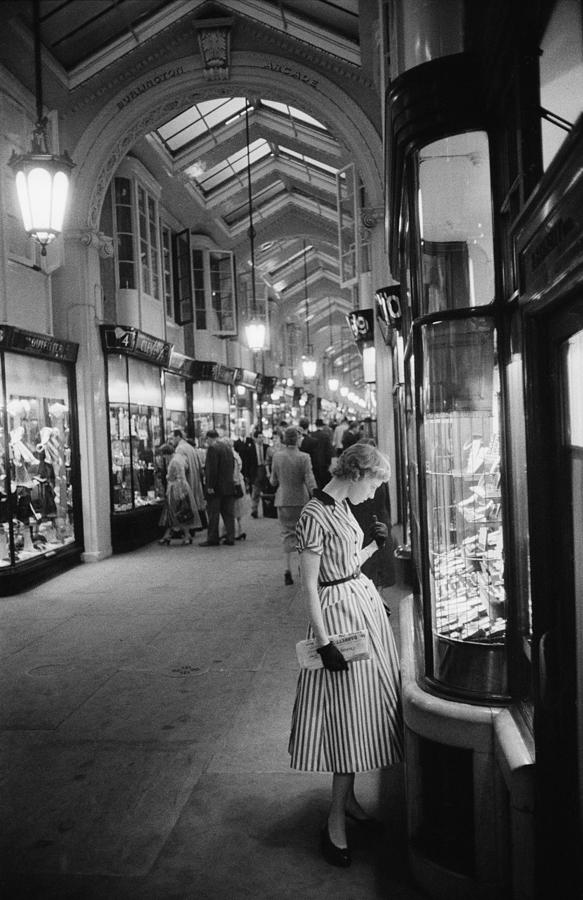 Burlington Arcade Photograph by Slim Aarons