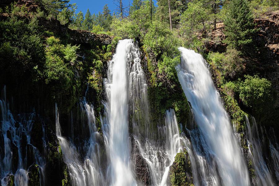 Waterfalls Photograph - Burney Falls #1 by John Heywood