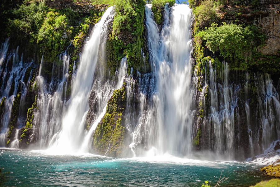 Waterfalls Photograph - Burney Falls #2 by John Heywood
