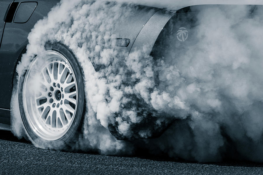 Burning Rubber by Dave Wilson