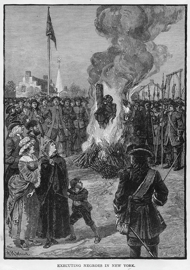 Burning Slaves At The Stake Photograph by Kean Collection