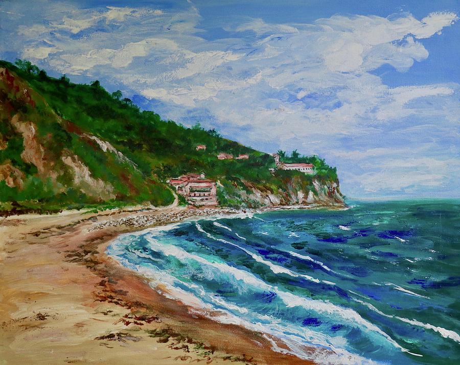 Redondo Painting - Burnout Beach, Redondo Beach California by Tom Roderick