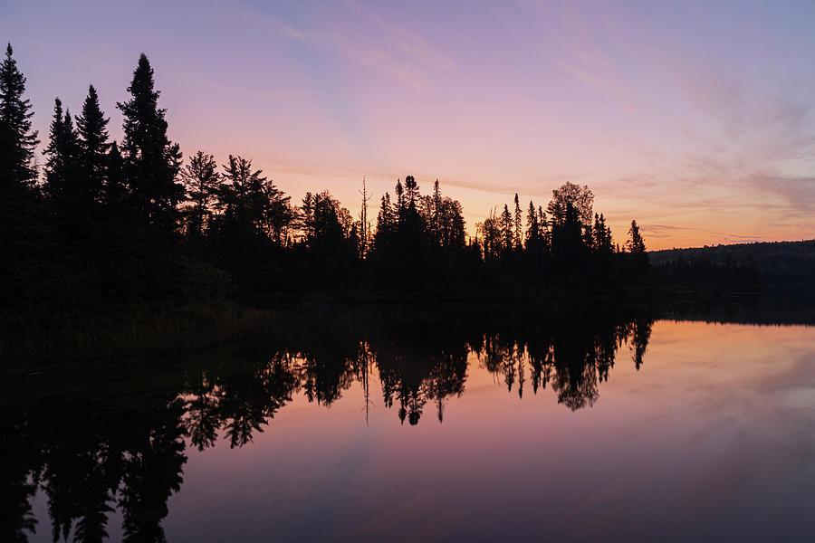 Burnt Lake Sunrise by Paul Schultz