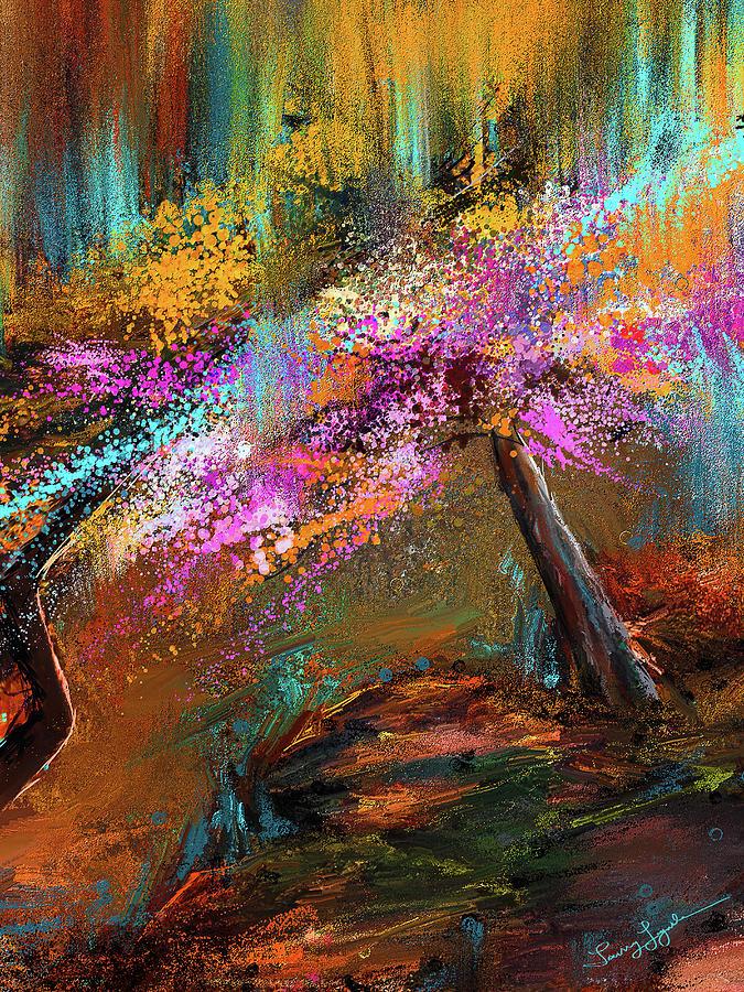 Burst Of Blooms - Garvan Woodland Gardens Hot Springs, Arkansas by Lourry Legarde