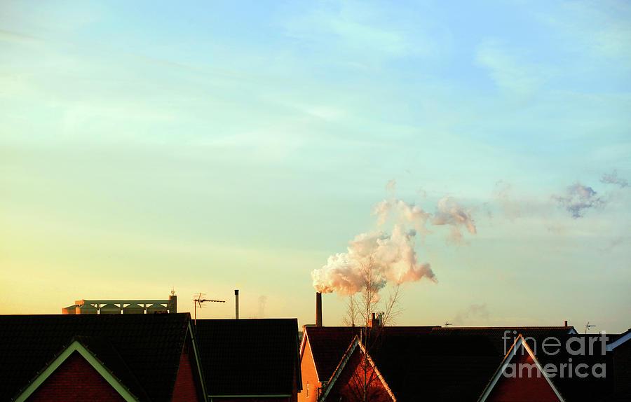 Atmosphere Photograph - Bury St Edmunds Factory  by Tom Gowanlock