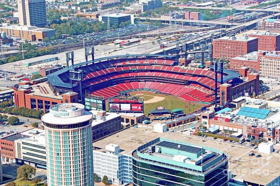 Busch Stadium Home Of St. Louis Cardinals Photograph
