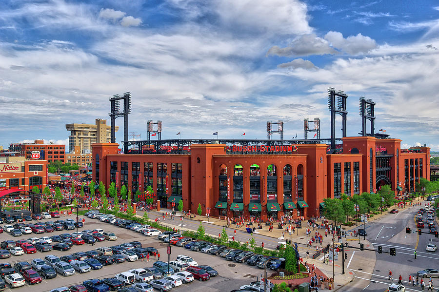 Busch Stadium by Randall Allen