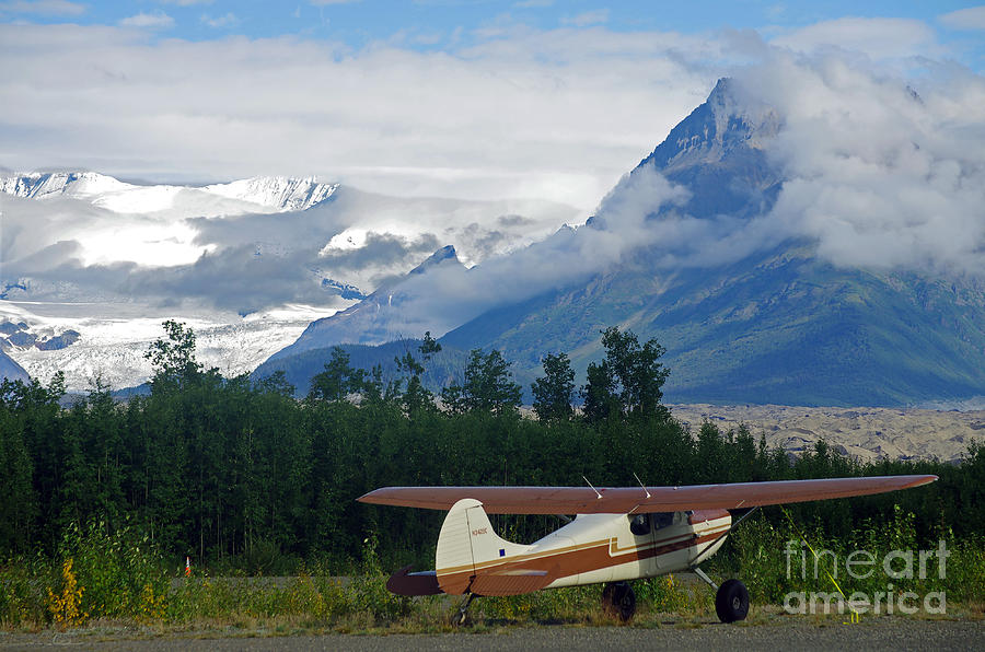 North Photograph - Bush Pilot In The Wilderness Of Alaska by Bildagentur Zoonar Gmbh