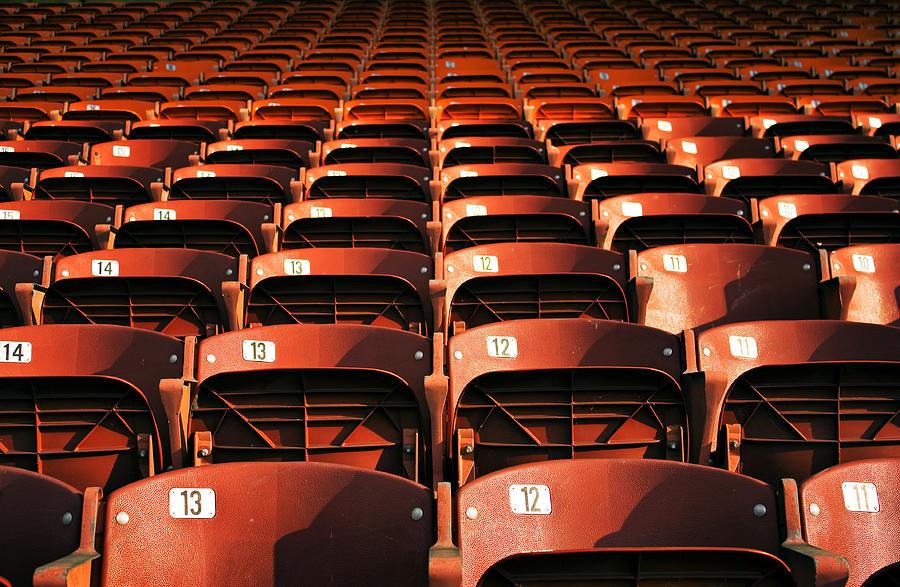 Bush Stadium Photograph by © Doug Waggoner