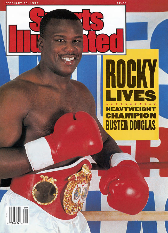 Buster Douglas, Heavyweight Boxing Sports Illustrated Cover Photograph by Sports Illustrated
