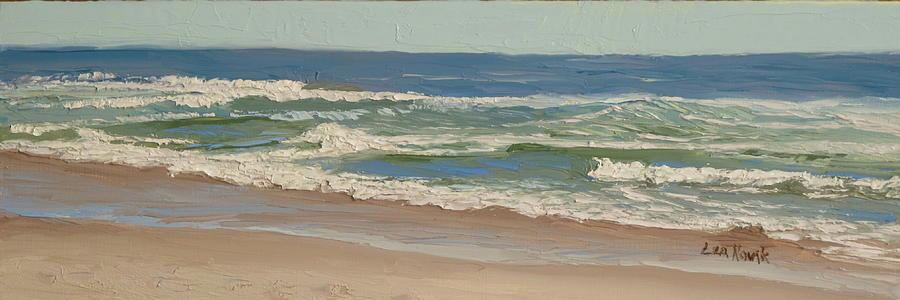 Busy Waves by Lea Novak