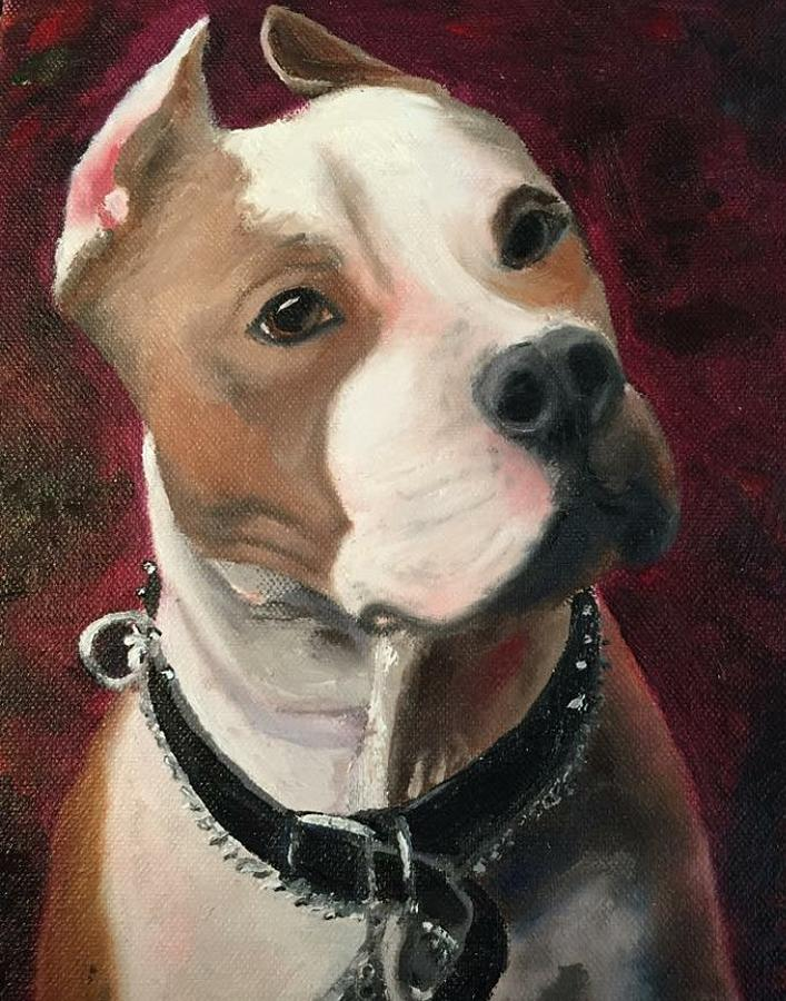Butch Painting by Karen Jordan