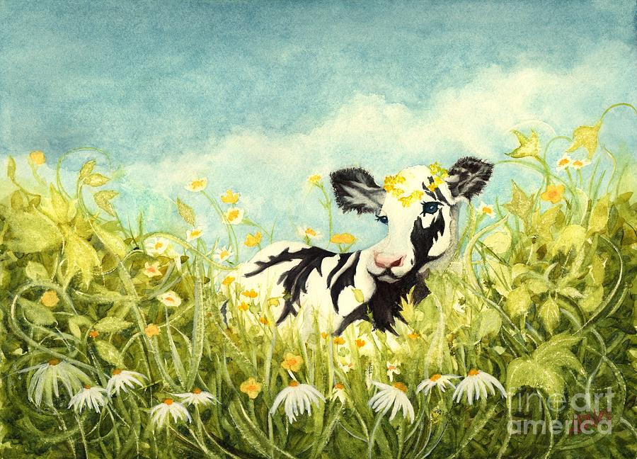 Buttercups and Ivy - Ava the baby Cow by Janine Riley