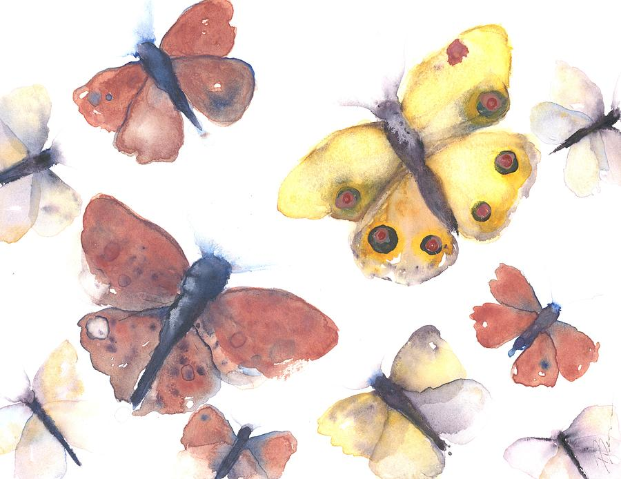 Butterflies by Dawn Derman