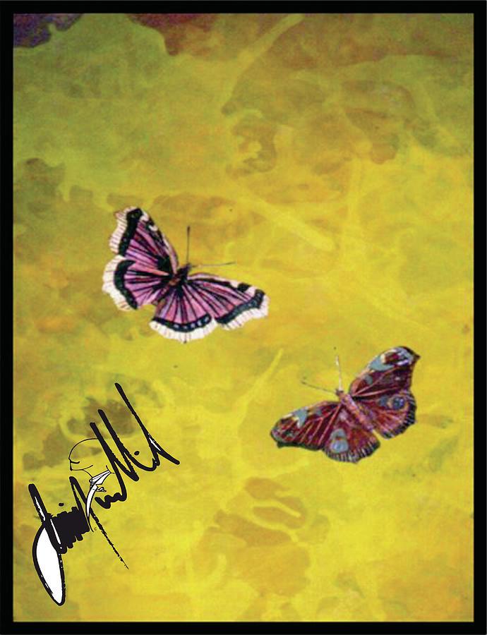 Butterflies Digital Art by Jimmy Williams